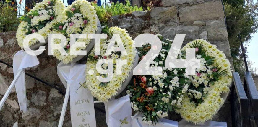 Σεισμός στην Κρήτη: Βαρύ το κλίμα στην κηδεία του 62χρονου οικοδόμου