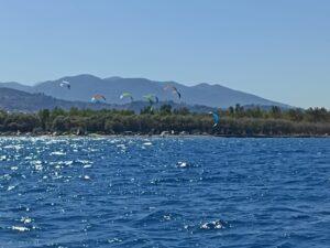 ΙΑΣΩΝ: Θέαμα στους αγώνες Kiteboarding στην Πλαζ ΦΩΤΟΓΡΑΦΙΕΣ