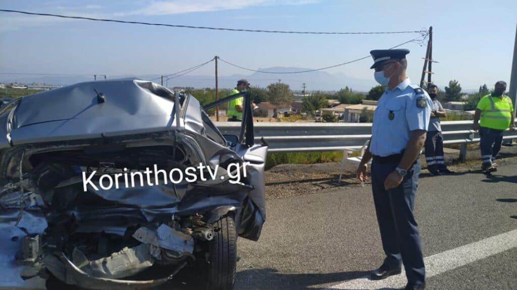 Ε.Ο Κορίνθου – Πατρών: Σοβαρό τροχαίο με μία γυναίκα νεκρή και τέσσερις τραυματίες