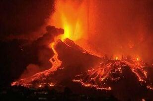 Ισπανία- Ηφαίστειο Λα Πάλμα: Βοήθεια ύψους 10,5 εκατ. ευρώ στους πληγέντες