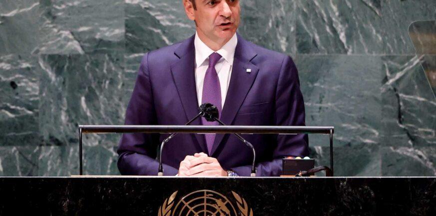 Μητσοτάκης-ΟΗΕ: Στόχος της κυβέρνησης βιώσιμη ενέργεια για όλους έως το 2030
