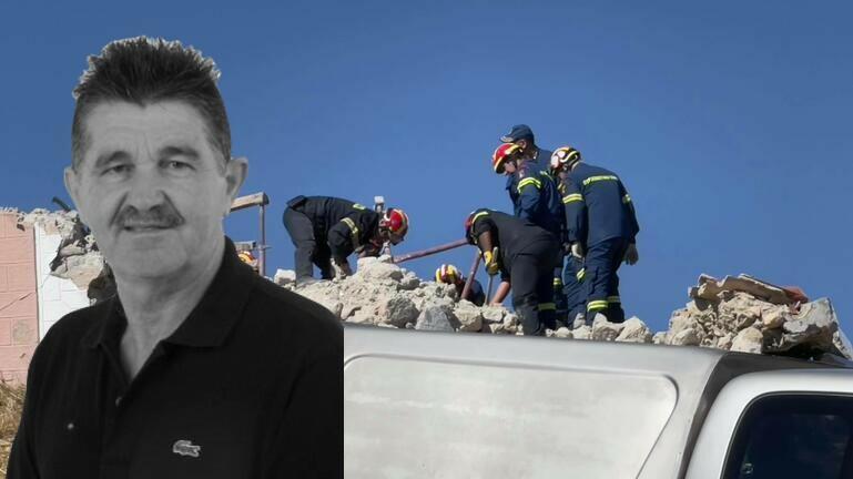 Σεισμός στη Κρήτη: Σήμερα η κηδεία του Ιάκωβου Τσαγκαράκη – Η τραγική ειρωνεία για τον 65χρονο