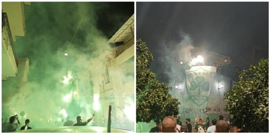 Πάτρα: «Κάηκε» η Τριών Ναυάρχων το βράδυ της Κυριακής ΦΩΤΟ και ΒΙΝΤΕΟ