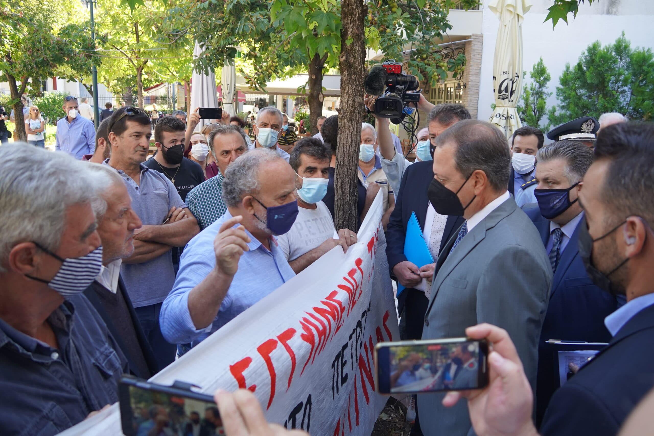 Αγρίνιο-Λιβανός σε αγρότες: «Οι πόρτες του Υπουργείου είναι πάντοτε ανοικτές»