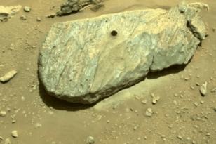 Ιστορικό επίτευγμα: Η NASA πήρε το πρώτο πέτρωμα από τον Αρη