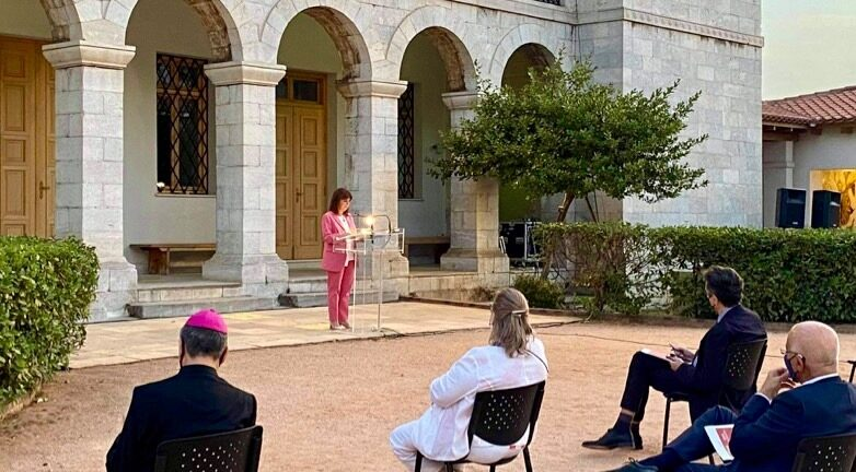 Κ. Σακελλαροπούλου: «Η Ναυμαχία της Ναυπάκτου σφράγισε την ιστορία και τον πολιτισμό της Ευρώπης»