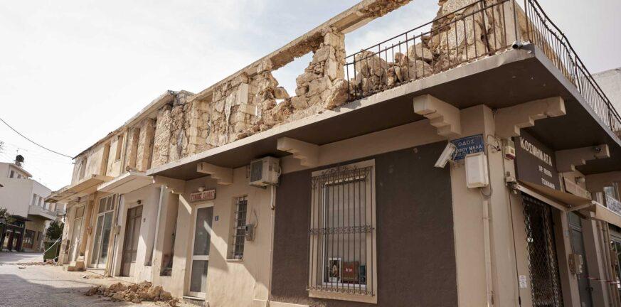 Σεισμός στην Κρήτη: 12 μέτρα στήριξης για πληγέντες και επιχειρήσεις