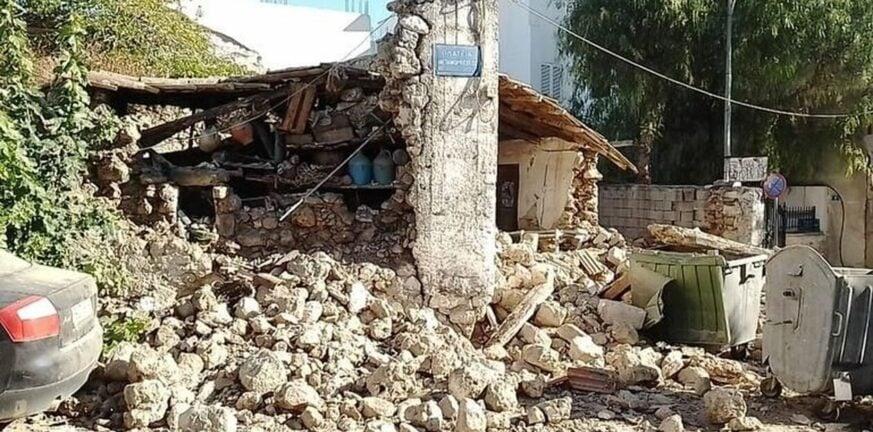 Κρήτη-σεισμός: Χρηματοδότηση με 1 εκατ. ευρώ των σεισμόπληκτων Δήμων Μινώα Πεδιάδας και Αρχανών-Αστερουσίων