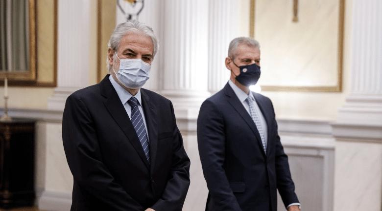 Στυλιανίδης - Τουρνάς: Ορκίστηκε η ηγεσία του νέου υπουργείου Πολιτικής Προστασίας