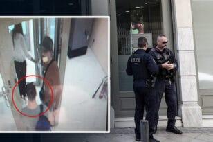 Συνελήφθη ο «ληστής με τα τατουάζ» στη Μητροπόλεως - Είχε πάνω του καλάσνικοφ