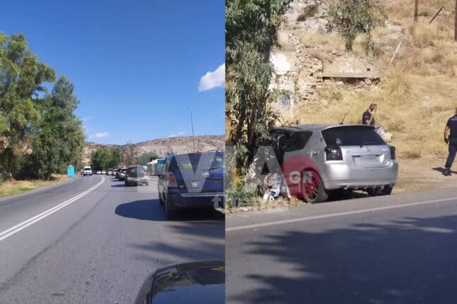 Σοβαρό τροχαίο στη Χαλκίδα - Εγκλωβίστηκε ο οδηγός ενός οχήματος