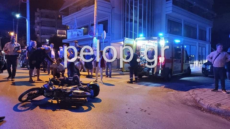 Πάτρα: Τροχαίο ατύχημα στην Αρόη - Δύο σοβαρά τραυματίες ΦΩΤΟ