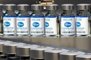 Αποτελεσματική στο 95,6% μια αναμνηστική δόση του εμβολίου των Pfizer/BioNTech