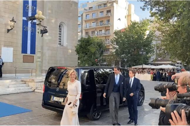 «Βασιλικός» γάμος στην μητρόπολη Αθηνών (φωτο + βίντεο)