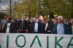 Πάτρα: Συγκέντρωση-διαμαρτυρία για τα αιολικά πάρκα σε περιοχές Natura - Παρών ο Δήμαρχος Κ.Πελετίδης