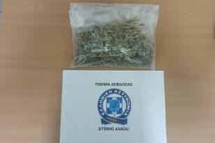 Δυτική Αχαΐα: Τον έπιασαν με φύλλα κάνναβης στο σπίτι του