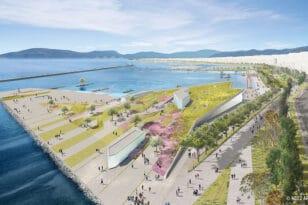 Πάτρα: Η πόλη βρίσκει τη θάλασσά της - ΦΩΤΟ
