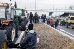 Στους δρόμους οι αγρότες την Τρίτη - Κλείνουν τον κόμβο «Μεγανίτη»