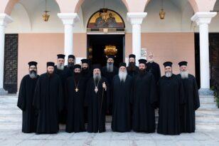 Η εορτή του Οσίου Χριστοδούλου στην Πάτρα - Τελέστηκε και το μνημόσυνο του Αρχιεπισκόπου ΦΩΤΟ