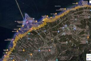 Πάτρα: Η θάλασσα θα φτάσει στη Μαιζώνος - Η Κλιματική Αλλαγή απειλεί την Αχαΐα