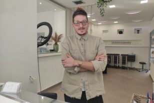 Ο Ιωνας Καλημέρης επέστρεψε στην Πάτρα με όλες τις νέες τάσεις στο hairstyling
