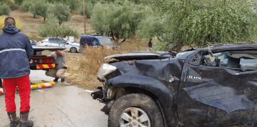 Πατρών-Πύργου: Εκτροπή οχήματος στα Βραχνέικα με τραυματισμό παιδιού- ΦΩΤΟ