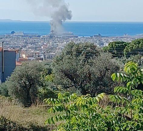 ΤΩΡΑ: Πρόβλημα με το Super Fast 11 που «καπνίζει» στο Λιμάνι της Πάτρας