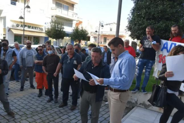 Σταφιδοπαραγωγοί της Ηλείας βγήκαν στο δρόμο - Ποια είναι τα αιτήματά τους