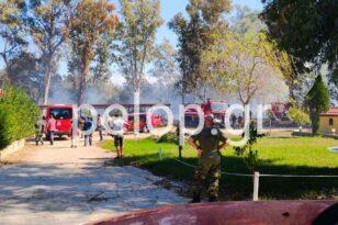 ΑΠΟΚΛΕΙΣΤΙΚΟ - Από τι προήλθε η φωτιά στο στρατιωτικό αεροδρόμιο του Αράξου