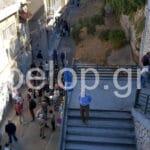 Πάτρα: Ανανεωμένη η έκθεση του πολεμικού καταφυγίου - Πλήθος κόσμου στο άνοιγμα ΦΩΤΟ