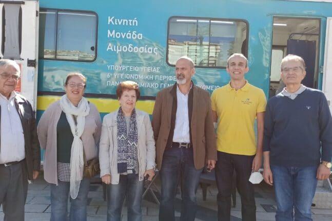 Η Πάτρα δίνει αίμα μέχρι την Παρασκευή - Εθελοντική αιμοδοσία στην Πλατεία Γεωργίου