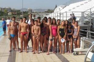 Τριάδα του ΝΟΠ στις Προεθνικές ομάδες κολύμβησης