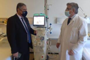 Πάτρα - ΠΓΝΠ: Πέντε νέα μηχανήματα Τεχνητού Νεφρού