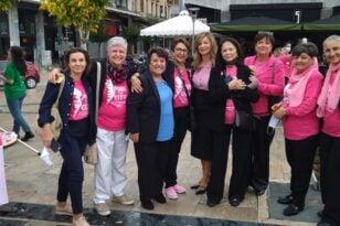 Pink the city 2021: Εξετάστηκαν συνολικά 223 γυναίκες ενώ 45 από αυτές παραπέμφθηκαν για δωρεάν διαγνωστικές εξετάσεις - ΦΩΤΟ
