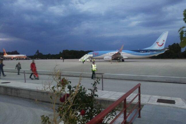 Το αεροδρόμιο του Αράξου σε συσκότιση!- Πρόβλημα με πτήση