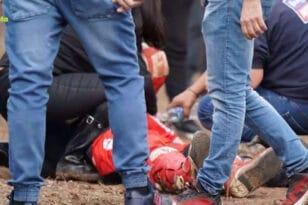 Απίστευτο ατύχημα σε αγώνα motocross στα Γιαννιτσά - Διασωληνώθηκαν οι δύο τραυματίες!