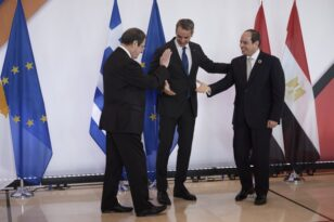 Το κείμενο Διακήρυξης Ελλάδας - Αιγύπτου - Κύπρου, αυστηρά μηνύματα σε Τουρκία