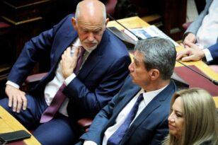 Σαφές μήνυμα Λοβέρδου στον Παπανδρέου: «Υπακούω μόνο στις θεσμικές αποφάσεις του κόμματος»