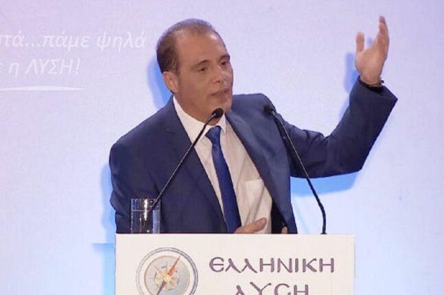 Βελόπουλος καρφώνει ΝΔ, ΣΥΡΙΖΑ: Και την ίδια ώρα αποφυλακίζονται δεκάδες άλλοι κακούργοι...