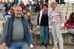 Τι έκανε η Χριστίνα Αλεξοπούλου στις Καμάρες...