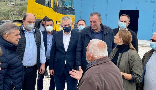 Τι υποσχέθηκε στους σεισμόπληκτους ο Χρήστος Τριαντόπουλος
