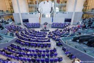 Γερμανία: Πρώτη συνεδρίαση για την Bundestag με τη νέα σύνθεση