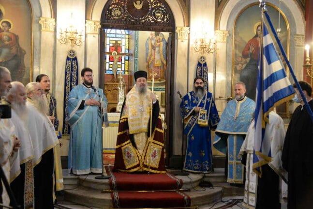 Ο εορτασμός της 28ης Οκτωβρίου στην Μητρόπολη Πατρών ΦΩΤΟ