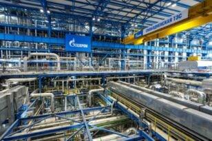 Ρωσία: Η Gazprom χρησιμοποιεί αποθέματα αερίου για να σταθεροποιήσει την αγορά