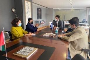 Συνάντηση Κικίλια με τον πρέσβη των Ηνωμένων Αραβικών Εμιράτων – Ενδιαφέρον για επενδύσεις στον τουρισμό