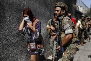 Σκηνές του λιβανικού εμφυλίου πολέμου στην Βηρυτό - Έξι νεκροί από πυρά σε διαδήλωση