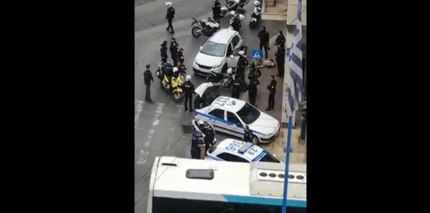 Πυροβολισμοί στο κέντρο της Αθήνας με έναν τραυματία - ΦΩΤΟ - ΒΙΝΤΕΟ