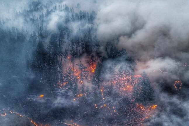 Επιδεινώνονται οι πυρκαγιές στη Σιβηρία - Ο καπνός φτάνει στον Βόρειο Πόλο