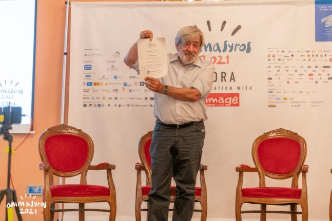 Ηλεία - Δημήτρης Σπύρου: Ο Άνθρωπος - σταθμός για τον παιδικό κινηματογράφο