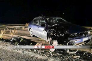 Τροχαίο με τραυματίες στην Αργολίδα – Αυτοκίνητο συγκρούστηκε μετωπικά με φορτηγό